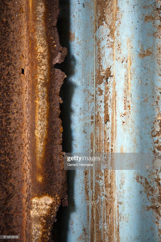 Rust and shadow