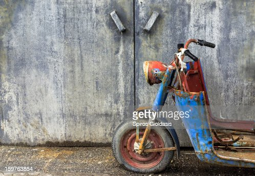 rust in peace : Stock Photo