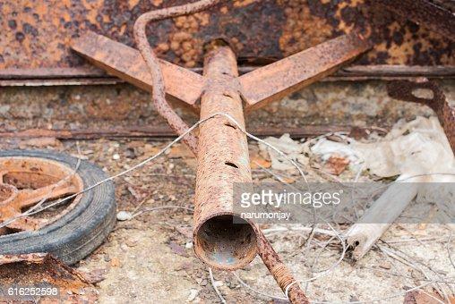 rust steel : Stock Photo
