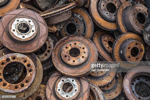 Rusted Abstract of Rotors