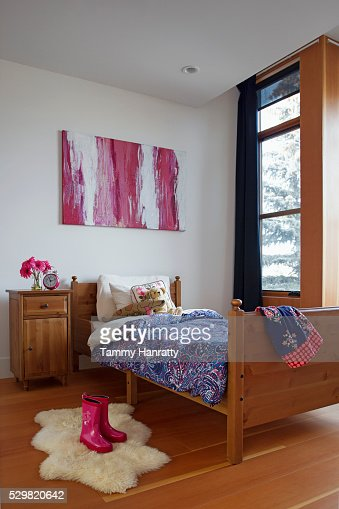 Rustic bedroom : Foto stock
