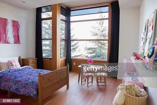 Rustic bedroom : Stock Photo