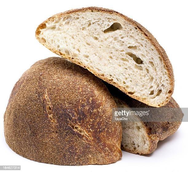 Rustic bread pile