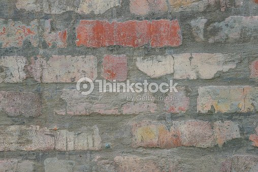 Rustic Brick Background Stock Photo