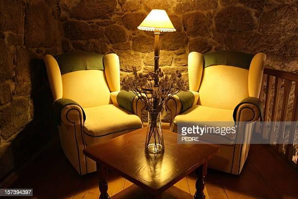 rustic living-room