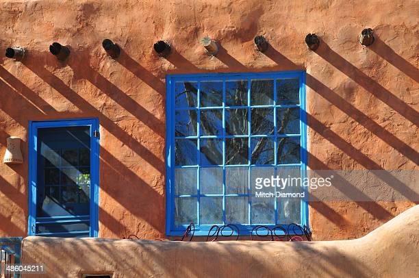 Rustic Santa Fe home windows