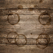 rustic wooden background with brown stains. rustic backdrop