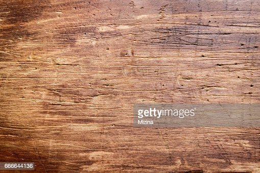 Rustic wooden cutting board : Foto stock