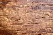 Rustic wooden cutting board background close up - rustic empty copy space for text, design element