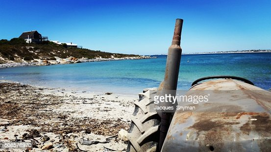 Rusting Tractor : Stock Photo