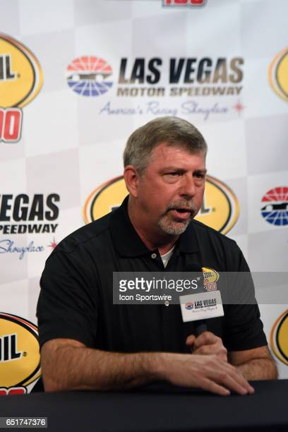 Rusty Barron Vice President of Marketing Shell Lubricants Americas announces the new sponsorship and Pennzoil 400 race for 2018 at LVMS on...