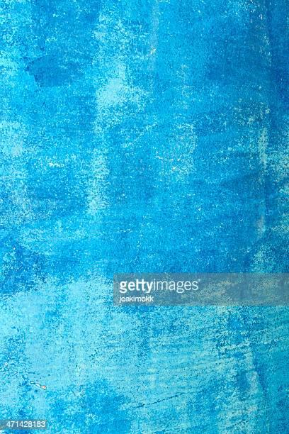 Rusty fond grunge bleu avec des taches de l'érosion