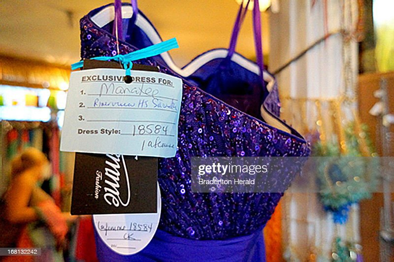 Rusty Crickett's Coastal City Cottage tags each prom dress to show where it will be worn. The store will not sell the same dress to students at the same high school to provide a special experience to teen shoppers.