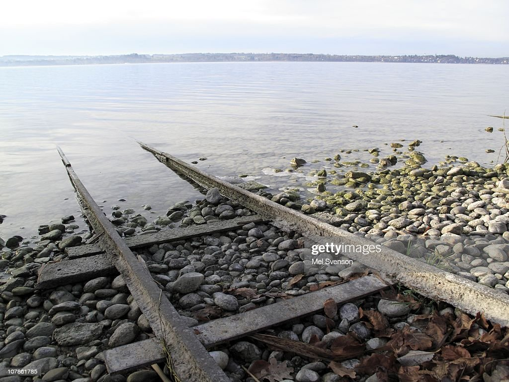 rusty rails : Stock Photo