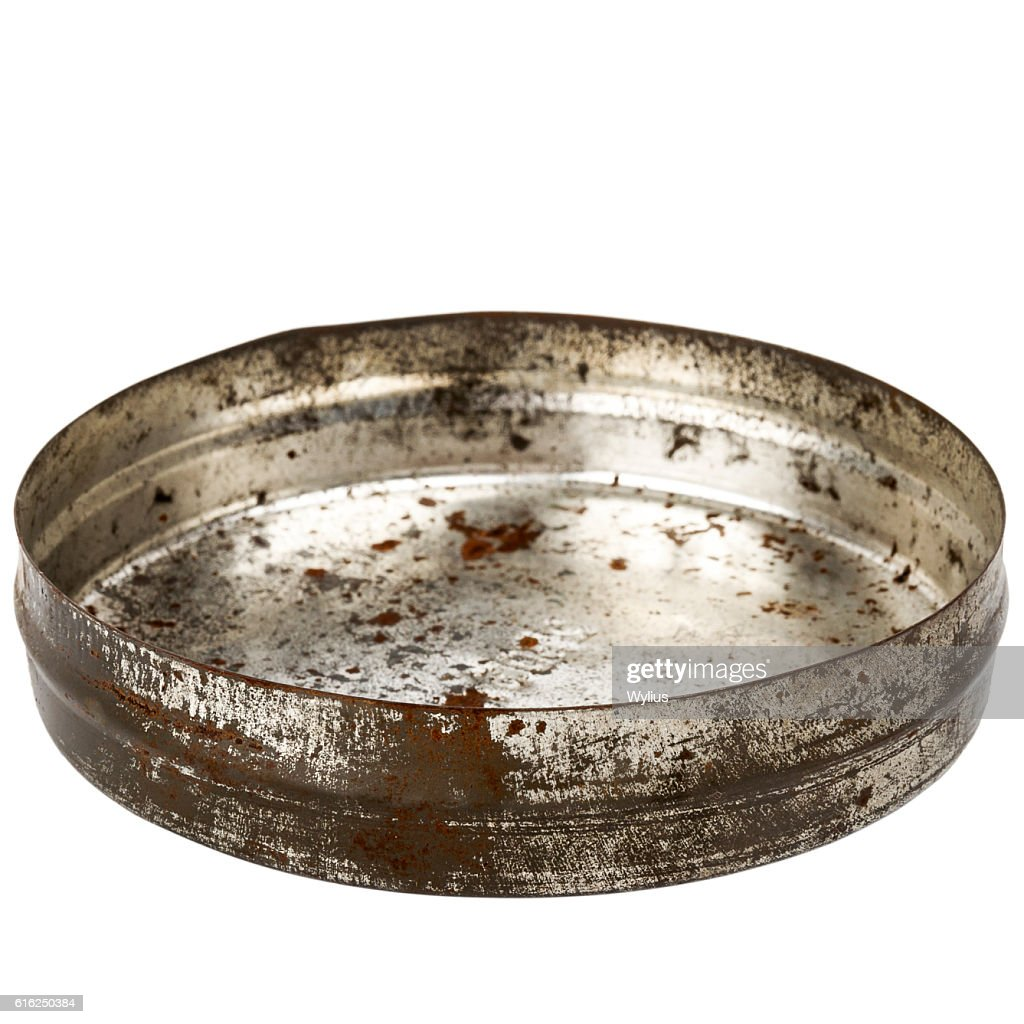 Placa de metal enferrujado : Foto de stock