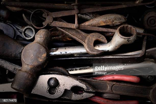 rusty set of tools