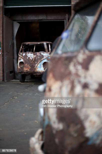 Rusty VW Van