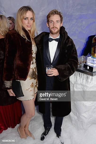 Ruta Gedmintas and Luke Treadaway attend JOHNNIE WALKER BLUE LABEL Presents SYMPHONY IN BLUE A Journey To The Centre of The Glass on September 17...