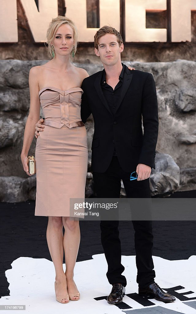 Ruta Gedmintas and Luke Treadaway attend the UK Premiere of 'The Lone Ranger' at Odeon Leicester Square on July 21, 2013 in London, England.