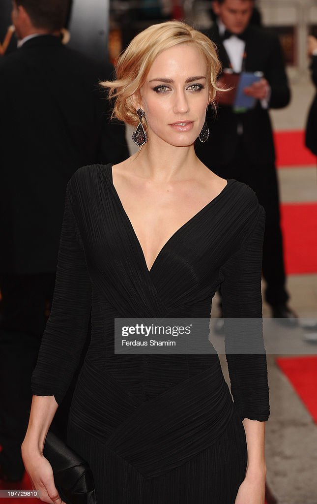 Ruta Gedmintas attends The Laurence Olivier Awards at The Royal Opera House on April 28, 2013 sLondon, England.