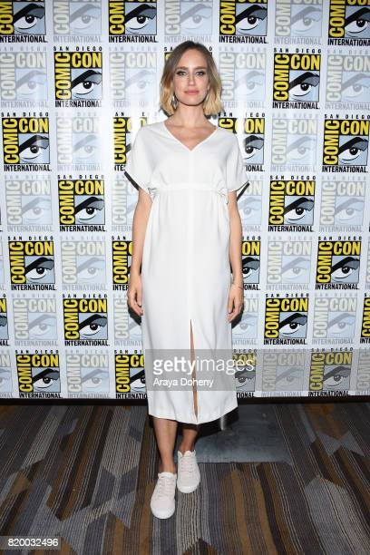 Ruta Gedmintas attends the The Strain press conference at ComicCon International 2017 on July 20 2017 in San Diego California