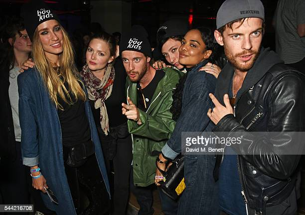 Ruta Gedmintas Holliday Grainger Luke Treadaway guests and Harry Treadaway attend the Massive Attack after party at 100 Wardour St following their...