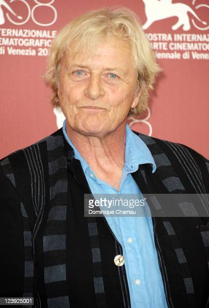 Rutger Hauer attends the 'Il Villaggio di Cartone' Photocall during the 68th Venice International Film Festival at Palazzo del Casino on September 6...