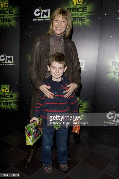 Ruth and Jack Homes arrive for the premiere of 'Ben 10 Race Against Time' at the Vue in Leicester Square London