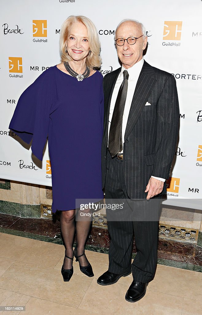 Ruth Appelhof (L) attends the Guild Hall: Academy Of The Arts Lifetime Achievement Awards at The Plaza Hotel on March 4, 2013 in New York City.