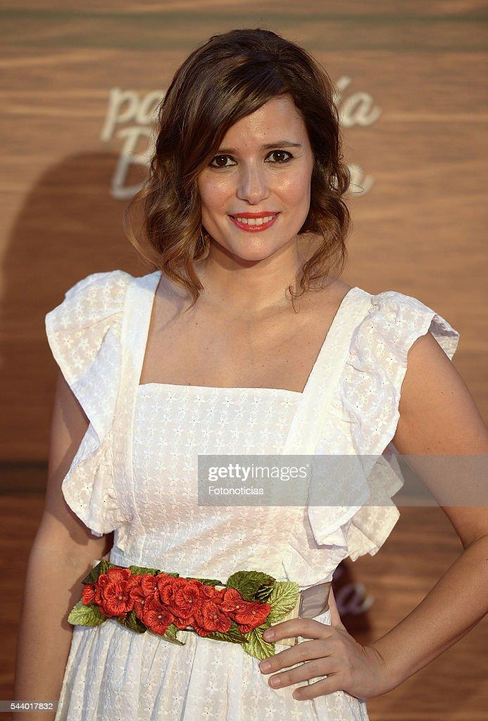 Ruth Armas attends the 'Mi Panaderia de Brooklyn' premiere at Capitol cinema on June 30, 2016 in Madrid, Spain.