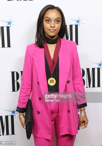 Ruth B arrives to the 65th Annual BMI Pop Awards held at the Beverly Wilshire Four Seasons Hotel on May 9 2017 in Beverly Hills California