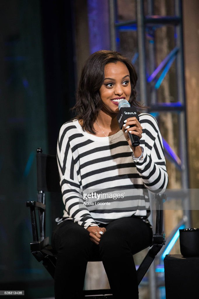 Ruth B. discusses 'The Intro' at AOL Studios In New York on May 4, 2016 in New York City.