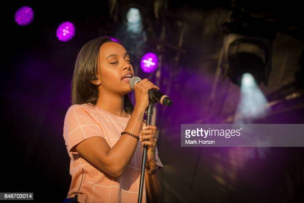 Ruth B performs on Day 1 of the CityFolk Festival at The Great Lawn at Lansdowne Park on September 13 2017 in Ottawa Canada