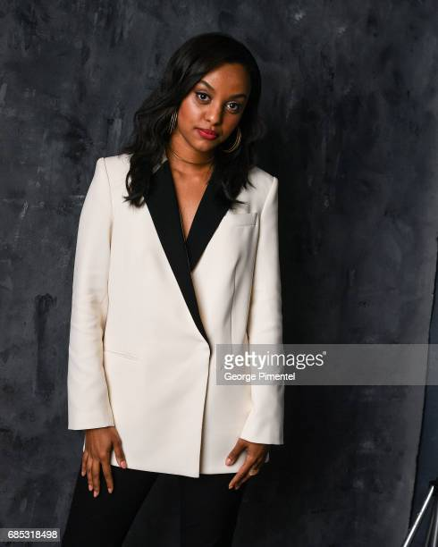 Ruth B poses at the 2017 Juno Awards Portrait Studio at the Canadian Tire Centre on April 1 2017 in Ottawa Canada