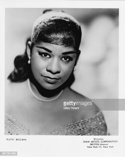 Ruth Brown studio portrait United States 1955