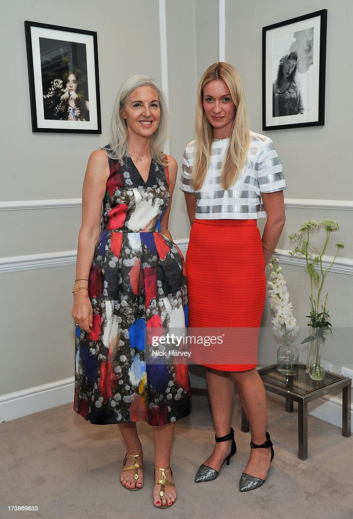 Ruth Chapman and Tilly Macalister-Smith attend MATCHESFASHION.COM Partners With Rika On 'Iron Girl' Project For Rika Magazine on July 18, 2013 in London, England.