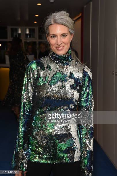 Ruth Chapman attends a dinner hosted by Jonathan Newhouse and Albert Read for Edward Enninful to celebrate the December issue of British Vogue at the...