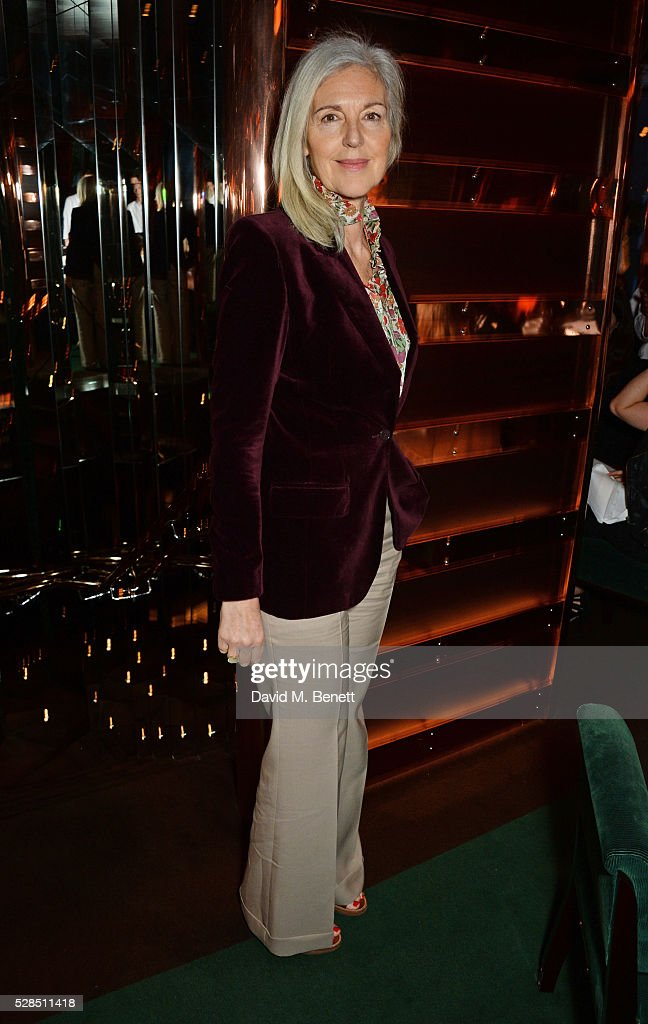 Ruth Chapman attends a private dinner hosted by Rodial founder Maria Hatzistefanis & Bay Garnett at Casa Cruz on May 5, 2016 in London, England.