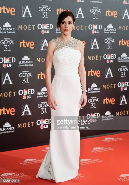 Ruth Diaz attends the 31st edition of the 'Goya Cinema Awards' ceremony at Madrid Marriott Auditorium on February 4 2017 in Madrid Spain