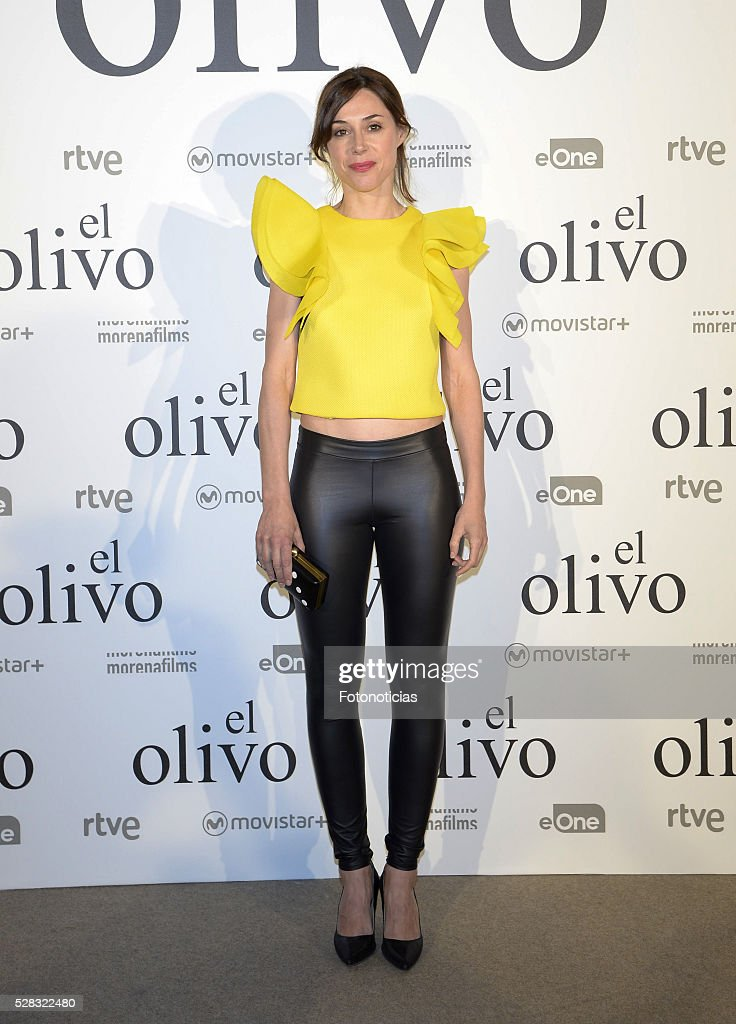 Ruth Diaz attends the premiere of 'El Olivo' at the Capitol cinema on May 4, 2016 in Madrid, Spain.