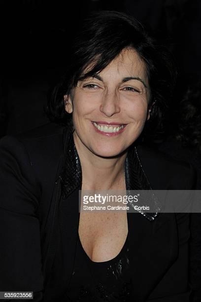 Ruth Elkrief attends the Sonia Rykiel Ready to Wear Autumn/Winter 2011/2012 show at Paris Fashion Week in Paris