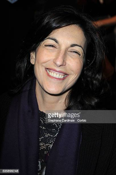 Ruth Elkrief attends the Sonia Rykiel Ready To Wear show as part of the Paris Fashion Week Fall/Winter 20102011