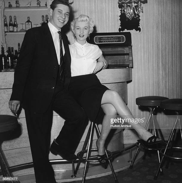Ruth Ellis at a bar with a friend 1954 The setting is probably The Little Club Knightsbridge which she managed at the time The following year Ellis...