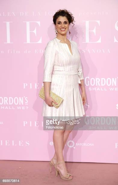 Ruth Gabriel attends the 'Pieles' premiere pink carpet at Capitol cinema on June 7 2017 in Madrid Spain