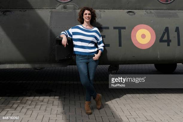 Ruth Gabriel attends 'Zona Hostil' photocall at the FAMET Military Base on March 6 2017 in Colmenar Viejo Spain