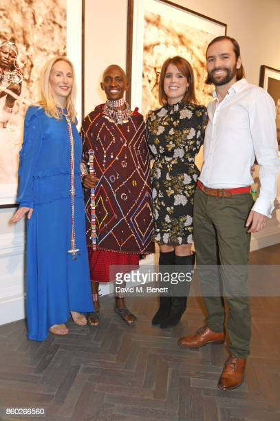 Ruth Ganesh Luke Mamai Princess Eugenie of York and Jack Brockway attend the Warrior Games Exhibition VIP preview party sponsored by Chantecaille and...