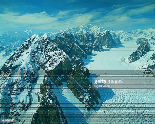 Ruth Glacier, Alaska, USA