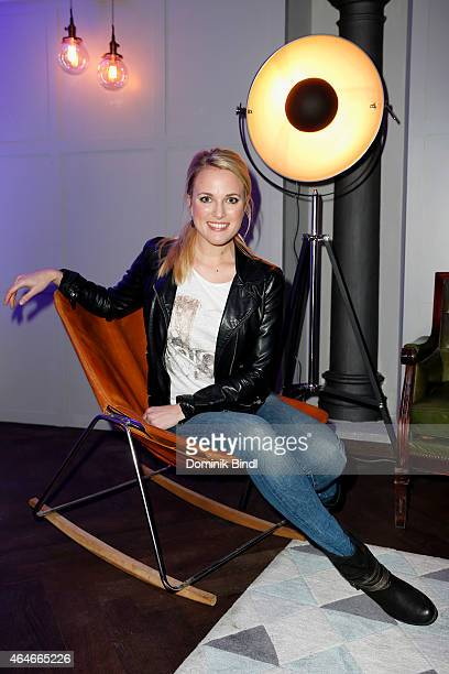 Ruth Hofmann attends the 'House of Cards' Season 3 German Premiere on February 27 2015 in Munich Germany
