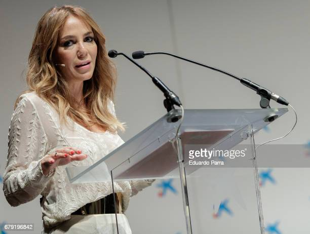 Ruth Jimenez attends the 'Foro Mujeres Tercer Milenio' at CaixaForum on May 5 2017 in Madrid Spain