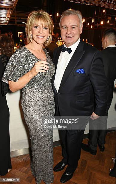 Ruth Langsford and Eamonn Holmes attend the 21st National Television Awards at The O2 Arena on January 20 2016 in London England
